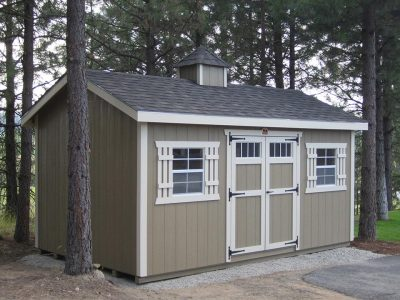 10x16 Modern Cottage Shed