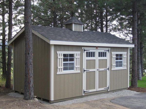10x16 Modern Cottage Shed