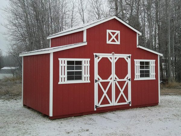 10x16 Rancher Shed