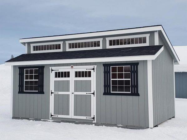 10x20 Alpine Chalet Style Shed Clayton WA