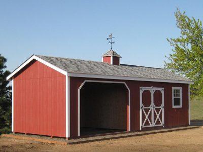 12x30 Horse Barn Animal Shelter Clayton WA