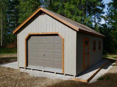14x24 Single Car Garage Clayton WA