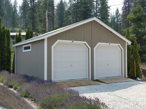 20x20 Double Car Garage Clayton Washington