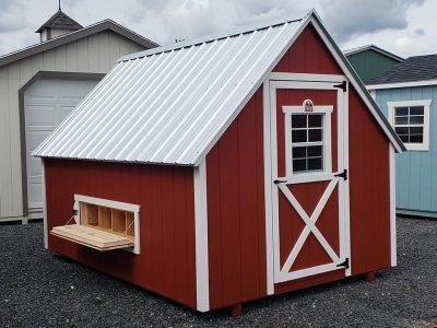 8x12 Chicken Coop Animal Shelters in Clayton Washington