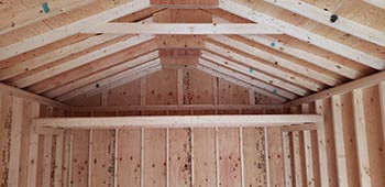 Cottage Shed Loft Option from Sturdy Built Sheds WA