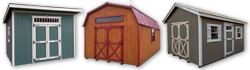 Storage Shed Styles from Sturdy Built Sheds Eastern WA